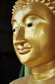 Buda cara latón nuevo