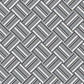 Design Seamless Monochrome Metallic Pattern