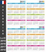 Calendar 2015-2018