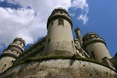 French Medieval Castle Pierrefond