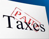 Taxes Paid Indicates Duty Balance And Duties