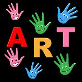 Kids Art Shows Craft Draw And Toddlers