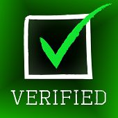 Tick Verified Indicates Authenticity Guaranteed And Approved