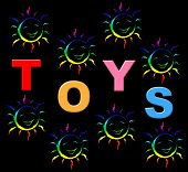Kids Toys Shows Shopping Retail And Youths
