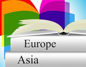 Books Travel Indicates Asia Voyage And Fiction