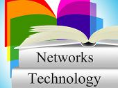 Computer Technology Shows Lan Network And Connection