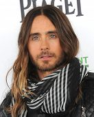 LOS ANGELES - MAR 01:  Jared Leto arrives to the Film Independent Spirit Awards 2014  on March 01, 2