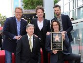 LOS ANGELES - MAY 09:  Rick Springfield, Doug Davidson, Richard Marx, Jason Thompson &  arrives to the Walk of Fame Honors Rick Springfield  on May 09, 2014 in Hollywood, CA.