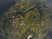 Aerial View - Bex, Switzerland