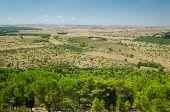 Puglia, Landscape From Castel Del Monte