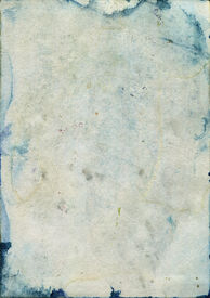 foto of saddening  - Stained and Damaged old watercolor paper - JPG