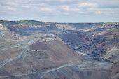 pic of iron ore  - Iron ore opencast mining  - JPG