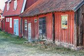 Old swedish village.