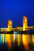 Golden Gates Drawbridge In Sacramento