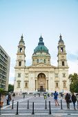 St. Stephen ( St. Istvan) Basilica In Budapest, Hungary