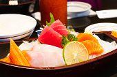 Sashimi Raw Fish