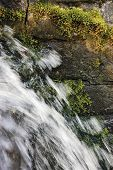 foto of stonewalled  - Running cascade waterfall - JPG
