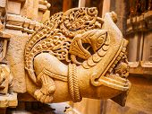 Sculpture In Jain Temple