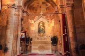 Inside Of Noravank Monastery