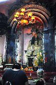 Vietnamese Pagoda Interior