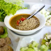 picture of nuong  - Vietnamese Meatball Wraps  - JPG