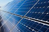 Solar Panels, Closeup