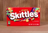 Box Of Skittles Candies
