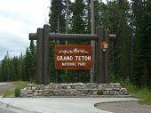 Grant Teton Sign