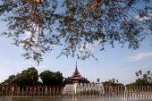 Mandalay Palace's Wall In Myanmar.