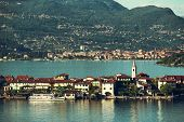 pic of lagos  - view of Lago Maggiore at the Italy - JPG