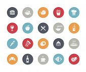 pic of continental food  - Food Icon Set 1 of 2  - JPG