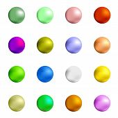 pic of gumballs  - Colorful Sweet Gumball Isolated on White Background - JPG