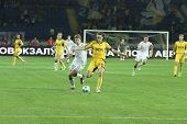 Metalist Vs. Krivbass Football Match