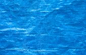blue tarpaulin
