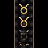 Taurus Horoscope Symbols