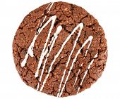 picture of chocolate-chip  - Homemade dark chocolate cookies - JPG