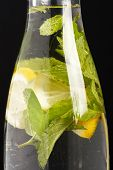 foto of mint leaf  - summer drink - JPG