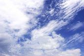 Cloudy Sky Background poster