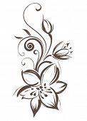 picture of floral design  - Flower - JPG