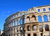 Colosseum In Pula