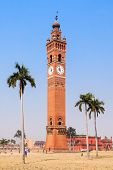 Husainabad Clock Tower Ghanta Ghar Tower Is A Clock Tower Located In The Lucknow City Of India poster