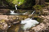 Waterfall In The Brecon Beacons