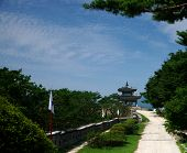 Traditional Korean Architecture, Hwaseong Fortress, Suwon, South Korea
