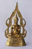 Gold Image Of Buddha