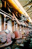 Shutdown old coking plant
