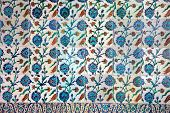 Iznik Ceramics With Floral Design