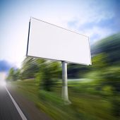 Billboard On The Highway.