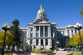 Denver State Capitol In Colorado