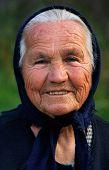 Alte griechische Dame