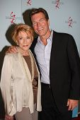 LOS ANGELES - AUG 26:  Jeanne Cooper, Peter Bergman attending the Young & Restless Fan Dinner 2011 at the Universal Sheraton Hotel on August 26, 2011 in Los Angeles, CA